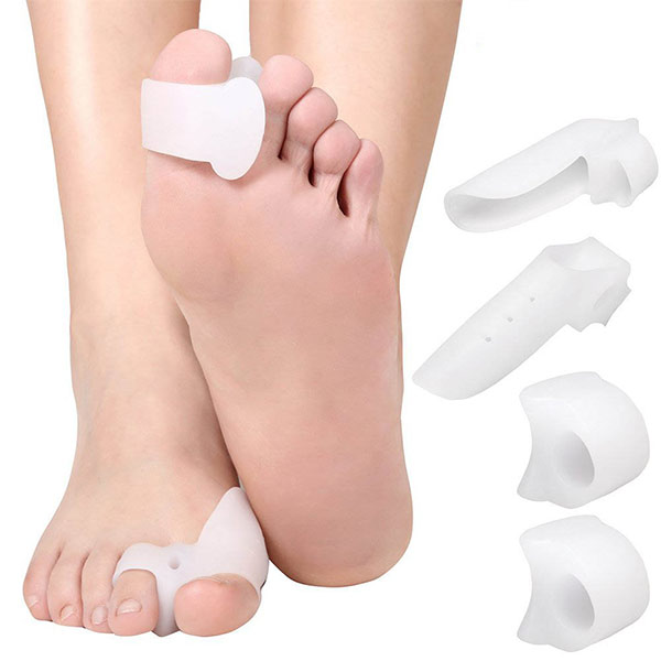 New arrival Reusable comfortable Silicone big toe separators ZG-292
