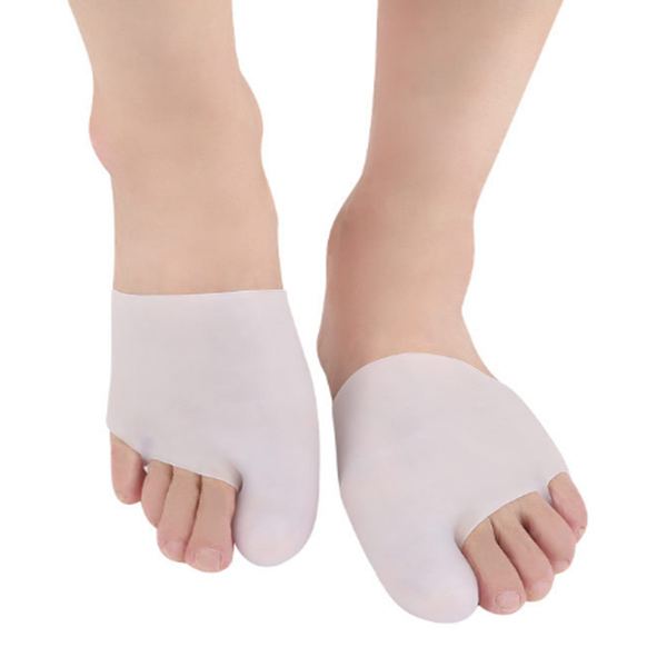 2018 New Super Soft Gel SEBS Big Foot Toe Separator Hallux Valgus Pain Relief Sock ZG-298