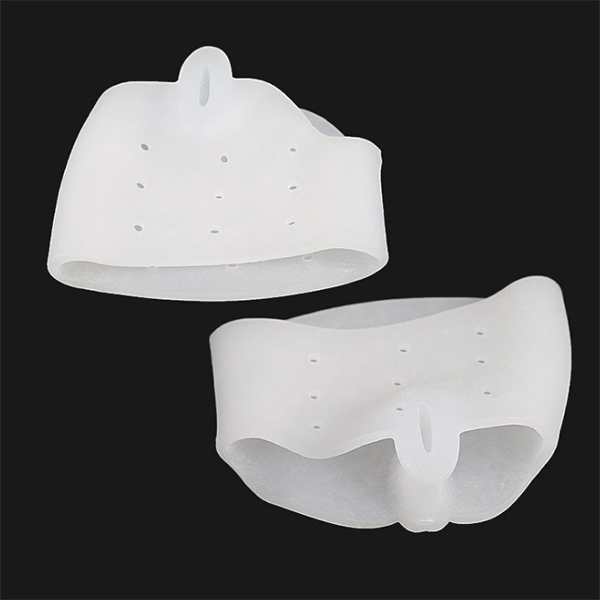 Gel Forefoot Metatarsal Pads Silicon Half Yard Pain Relief Massage Anti slip Cushion Forefoot Supports Foot Care ZG-307