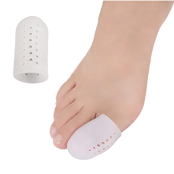 New arrival Silicone gel toe protector bunion magnetic therapy toe corrector ZG-424