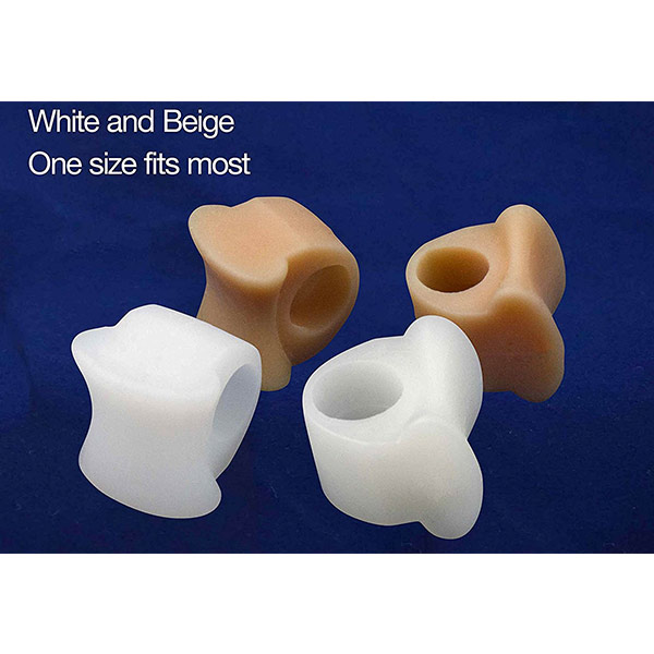 High Quality Silicone Gel Foot Fingers Toe Separator ZG-1839