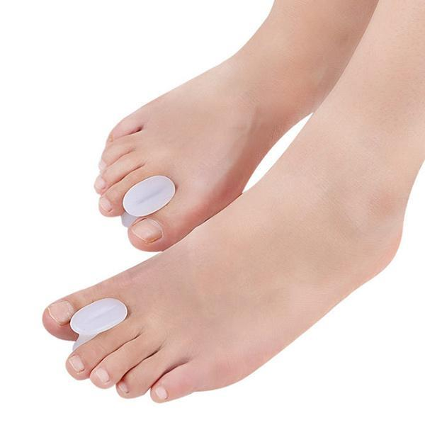 Amazon Hot Selling Foot Care Hallux Valgus Corrector Orthopedic Silicone Gel Toe Separators ZG-437
