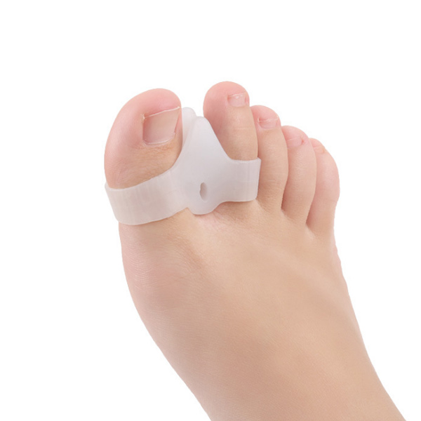 Fast Delivery Amazon Hot Sell Toe Separator White Small Gel Toe Protector ZG-438