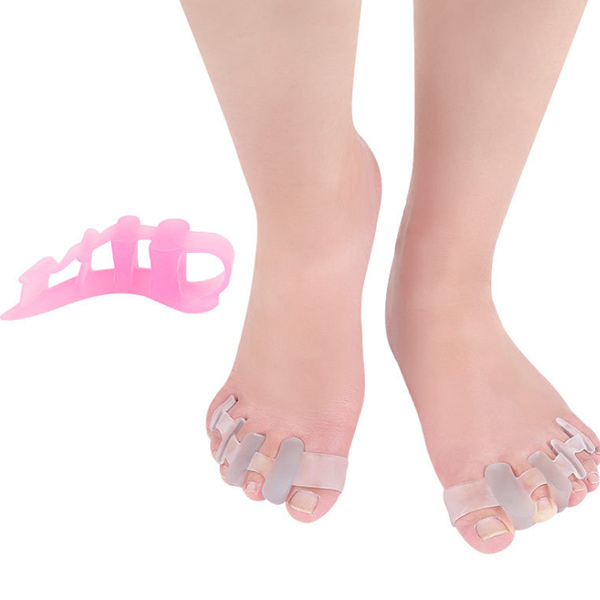 2018 Amazon Hot Sell In Stock Bunion Toe Separator Gel Silicone Bunion Corrector Toe Straightener ZG-451