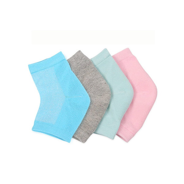 Silicon Whiten Exfoliating Moisturizing foot Protectors Cooling Gel Socks ZG-S12