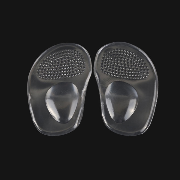 4D Anti-skid Forefoot Pad Silicone High Heels/Sandals Cushion Metatarsal Ball of Foot For Woman Foot Care Insoles ZG-361